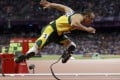 """""""Blade Runner"""" Oscar Pistorius was convicted of culpable homicide over the killing of his girlfriend. Photo: AP"""
