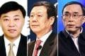 Shang Bing, Wang Xiaochu and Chang Xiao-bing