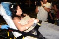 Jasmine Chu was brought to Princess Margaret Hospital shortly before 3am after a flight from Bangkok. Photo: SCMP Pictures