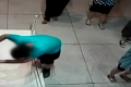A 12-year-old boy holding a drink in his hand tripped at a museum in Tawan and broke his fall with a painting, smashing a fist-sized hole in it. The piece was worth $1.5 million.