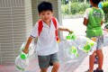 Concern that drinking water in schools may be tainted with lead arose on August 21. Photo: May Tse