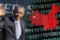 US President Barack Obama is expected to take a firm line on the issue of hacking during Chinese President Xi Jinping's visit. Photo: AP