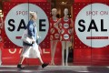 Retail sales in Australia fell 0.1 per cent in July from June. Photo: AFP