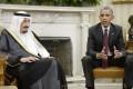 President Barack Obama and Saudi Arabia's King Salman. Photo: TNS