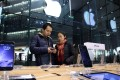 As Chinese media widely reported on Apple's upcoming smartphone, anti-Apple comments began appearing on Chinese social media platforms. Photo: Bloomberg