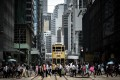 The rezoning proposal for Central will help create a safer environment for pedestrians. Photo: AFP