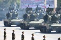 Part of the military parade in Beijing. Photo: Xinhua