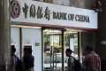 Bank of China owns nine of the 18 authorised yuan clearing banks worldwide. Photo: AFP