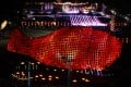 2011: William Lim's record-breaking giant fish, made of over 1,000 lanterns, at Victoria Park, Causeway Bay. Photo: AFP