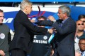 No love lost between managers: Arsenal's Arsene Wenger and Chelsea's Jose Mourinho are set for a bristling clash. Photo: AFP