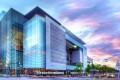 The Newseum in Washington already features a permanent tribute to the US Constitution's free-speech amendment on its facade. Photo: Newseum