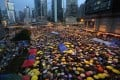 Yellow umbrellas soon began to symbolise the Occupy Central movement. Photo: SCMP Pictures