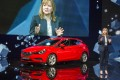 General Motors CEO Mary Barra presents the new Opel Astra at the 66th IAA auto show in Frankfurt, western Germany, on September 15.
