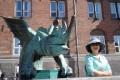 Shenzhen teacher Judy Feng in Copenhagen, Denmark, during a customised tour around Scandinavia in March. Photo: Judy Feng