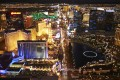 Las Vegas, the unreal city that is the setting for James Sie's novel. Photo: Corbis