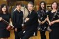 Mao Qinghua, Wong Lok-ting, Yan Huichang, Zhou Yi and Zhang Chongxue of the Hong Kong Chinese Orchestra. Picture: K. Y. Cheng