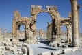 Islamic State militants have blown up the Arch of Triumph in the ancient Syrian city of Palmyra.  File photo: AFP