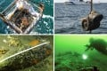 The three-day exploration of the wreck of the Chinese  warship began on Sunday. Photos: SCMP Pictures