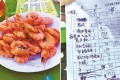 The diners were told the price was for a dish of shrimp, but they were charged that amount for each shrimp on the plate. Photo: SCMP Pictures