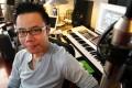 Music producer Johnny Yim was at the wheel of the Ferrari. Photo: May Tse