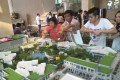 A model showing another project called One Bloosom Cove in Liwan, Guangzhou, which is being developed by China Overseas Land & Investment. Photo: SCMP Pictures