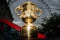 The Webb Ellis Cup will be awarded to the winning team after the final of the Rugby World Cup at Twickenham on 31 October (1 November HKT). Photo: AFP