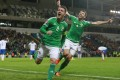 Northern Ireland skipper Steven Davis scored twice to secure his country's passage to France next year. Photo: Reuters