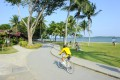 Singapore has a 120km cycle path that connects 100 parks. Photo: STB