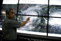 Philippines' undersecretary Alexander Pama, head of the National Disaster Risk Reduction and Management Council (NDRRMC), gives a briefing on Typhoon Koppu, known there as Lando, in suburban Manila on Saturday. Photo: AFP