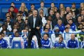 Jose Mourinho shouts instructions to his side. Photo: Reuters