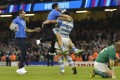 The Argentinian joy at the final whistle in the quarter-final aganst Ireland was evident. Photos: Reuters