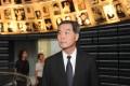 Leung visiting a museum in Israel last week.Photo: AFP