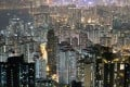 Apartment buildings and office blocks are clustered tightly together in Hong Kong's Kowloon district. Photo: AFP