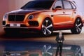 Ricky Tay shows off the Bentayga, the luxury marque's first foray into the SUV market, in Chengdu, southern China. Photo: SCMP Pictures
