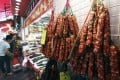 Chinese sausages were not mentioned in the WHO report but may also cause cancer, health experts said. Photo: Sam Tsang