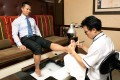 A pedicure was a magical experience - it felt as though I had two new feet, said Rowse. Photo: SCMP