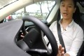 The software allows Model S cars to automatically change lanes, change speed in traffic, steer within lanes and park with the help of radar, cameras and ultrasonic sensors. Photo: SCMP