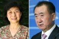 Wang Jianlin (right) said Xi's elder sister, Qi Qiaoqiao (left), and her husband Deng Jiagui once invested in Dalian Wanda Commercial Properties but sold their stake before the firm went public last year. Photos: Simon Song, SCMP Pictures
