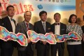 Health minister Dr Ko Wing-man (centre) attends an event yesterday to promote awareness of prostate cancer. Photo: Naomi Ng