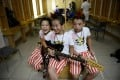 Giving children ownership of their music tastes will increase their interest. Photo: AFP