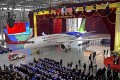 The C919, a twin-engine 158-seater, is the fruit of a Chinese government initiative to compete in the market for large passenger jetliners. Photo: EPA