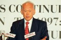 Singapore's late leader Lee Kuan Yew