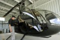 A Robinson R-44 helicopter, like the one operated by Cheng Weishi. Photo: AFP