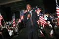US Republican presidential candidate Ben Carson gives a speech in Fajardo, Puerto Rico, on Saturday. Photo: Reuters