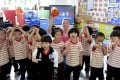 A preschool class at Huamei International School.
