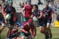 Hong Kong take on Portugal in the 7th/8th-place play-off match at the 2015 World Rugby U20 Trophy in Lisbon. Photo: World Rugby