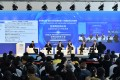 A forum on Internet innovation is held during the 2015 World Internet Conference in Wuzhen, Zhejiang. Photo: Xinhua