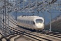 A train running on the Shanghai-Kunming high-speed railway heads for Yiwu Station, east China's Zhejiang Province. Photo: Xinhua