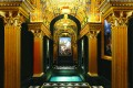 """Rooms at ultra-luxury hotel """"THE 13"""" set to open later this year in Macau, will come complete with a Roman Bath capable of hosting 6-8 people at a time. When not in use, the Roman Bath is covered by a retractable marble floor."""