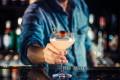 A bartender serves a classic Hemingway Daiquiri at Macau's new Heart Bar.
